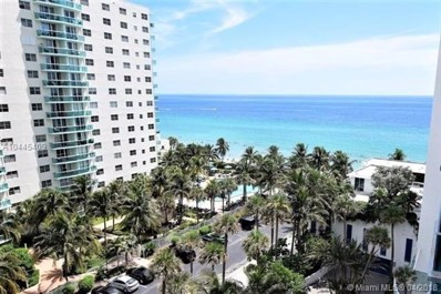 4001 S Ocean Dr UNIT 8P, Hollywood, FL 33019 - MLS#: A10445409