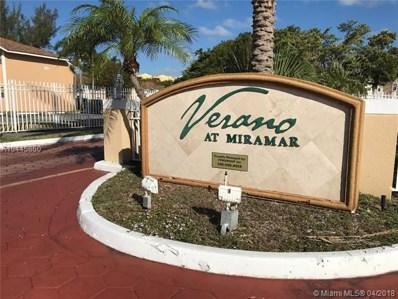 2294 SW 81st Ave UNIT 2194, Miramar, FL 33025 - MLS#: A10445860