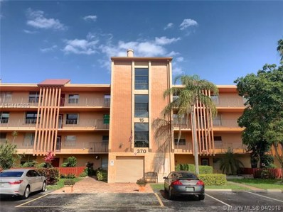 370 NW 76th Ave UNIT 304, Margate, FL 33063 - MLS#: A10445885