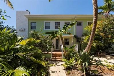 915 8th St UNIT 108, Miami Beach, FL 33139 - MLS#: A10446333