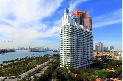 400 S Pointe Dr UNIT 1601, Miami Beach, FL 33139 - MLS#: A10446789