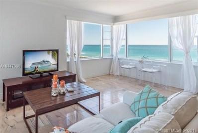 5255 Collins Ave UNIT 6F, Miami Beach, FL 33140 - MLS#: A10447008