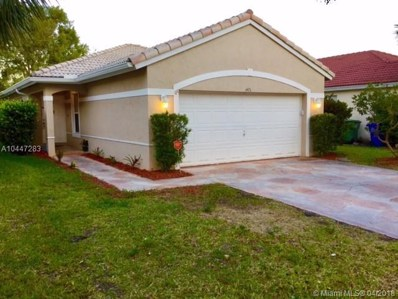 1475 NW 208th Ter, Pembroke Pines, FL 33029 - MLS#: A10447283