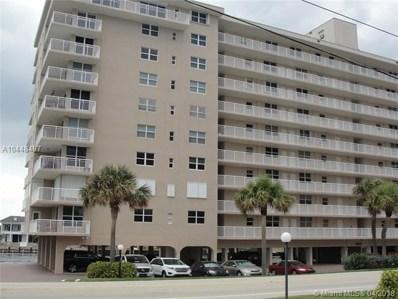 1051 Hillsboro Mile UNIT 601E, Hillsboro Beach, FL 33062 - MLS#: A10448497