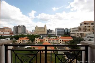 1805 Ponce De Leon Blvd UNIT 829, Coral Gables, FL 33134 - MLS#: A10448572
