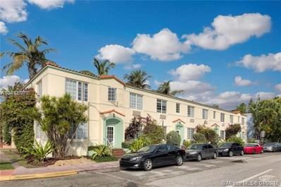 741 15th St UNIT 16, Miami Beach, FL 33139 - MLS#: A10448972