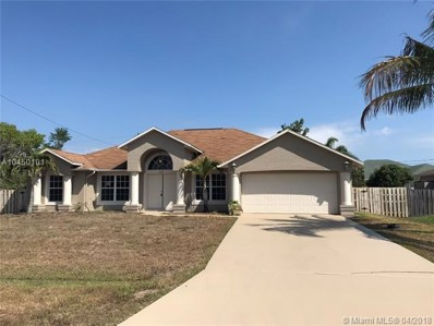 521 SW Lawler Ave, Port St. Lucie, FL 34953 - MLS#: A10450101
