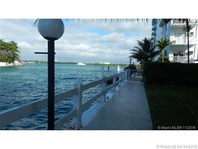10250 W Bay Harbor Dr UNIT 2C, Bay Harbor Islands, FL 33154 - MLS#: A10450653