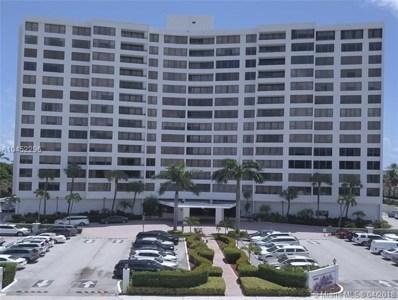 3505 S Ocean Dr UNIT 1208, Hollywood, FL 33019 - MLS#: A10452296
