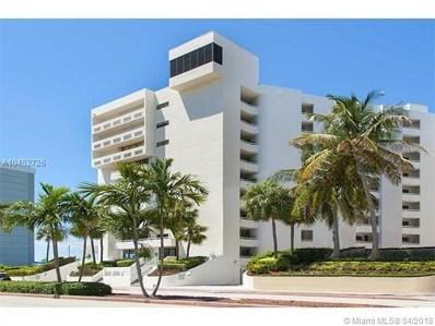 6820 Indian Creek Dr UNIT 6F, Miami Beach, FL 33141 - MLS#: A10452726