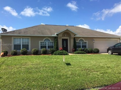 566 SW Dahled Ave, Port St. Lucie, FL 34953 - MLS#: A10453711