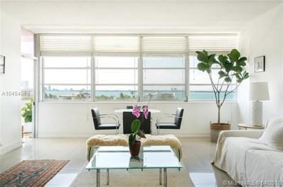 20 Island Ave UNIT 603, Miami Beach, FL 33139 - MLS#: A10454968