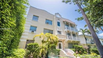 842 Meridian Ave UNIT 3F, Miami Beach, FL 33139 - MLS#: A10455746