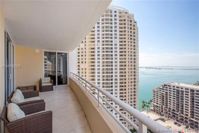 848 Brickell Key Dr UNIT 2505, Miami, FL 33131 - MLS#: A10458205