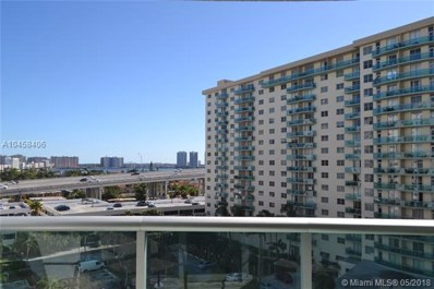 19380 Collins Ave UNIT 825, Sunny Isles Beach, FL 33160 - MLS#: A10458406