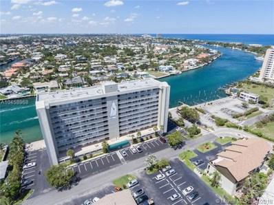 2611 N Riverside Dr UNIT 406, Pompano Beach, FL 33062 - MLS#: A10458968