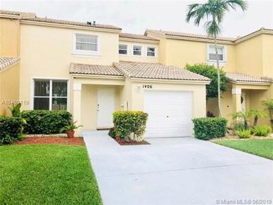 1406 NW 154TH Ln UNIT O, Pembroke Pines, FL 33028 - MLS#: A10460119