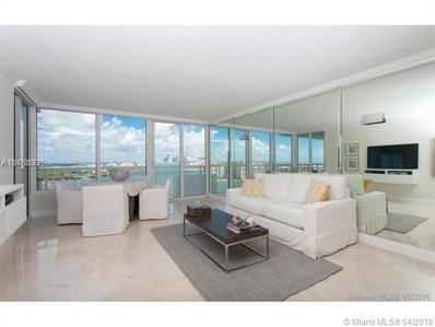 400 S Pointe Dr UNIT 1701, Miami Beach, FL 33139 - MLS#: A10460335