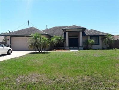 912 SW Paar Dr, Port St. Lucie, FL 34953 - MLS#: A10460392