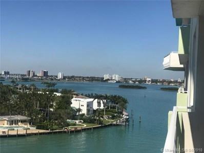 10350 W Bay Harbor Dr UNIT 9K, Bay Harbor Islands, FL 33154 - MLS#: A10460526