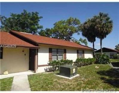487 Glenwood Dr UNIT 487, West Palm Beach, FL 33415 - MLS#: A10460629