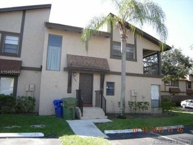 1961 Bayberry Dr UNIT 1961, Pembroke Pines, FL 33024 - MLS#: A10460940