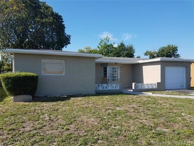 3174 NW 43rd St, Lauderdale Lakes, FL 33309 - MLS#: A10462712