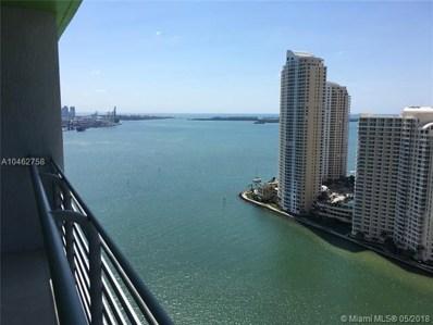 325 S Biscayne Blvd UNIT 3315, Miami, FL 33131 - MLS#: A10462758