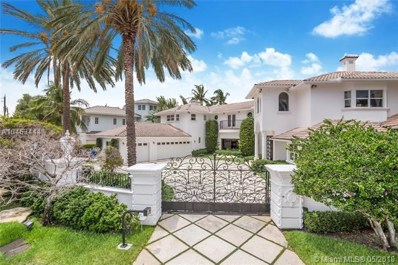 3 Pelican Isle, Fort Lauderdale, FL 33301 - MLS#: A10463444