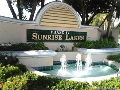 2981 N Nob Hill Rd UNIT 407, Sunrise, FL 33322 - MLS#: A10463687