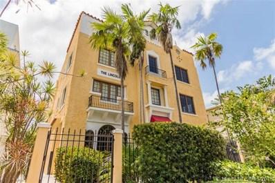 1614 Pennsylvania Ave UNIT 1E, Miami Beach, FL 33139 - MLS#: A10463774