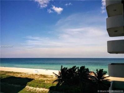 5757 Collins Ave UNIT 807, Miami Beach, FL 33140 - MLS#: A10464027