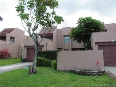 1768 NW 58th Ave UNIT 11, Lauderhill, FL 33313 - MLS#: A10464055