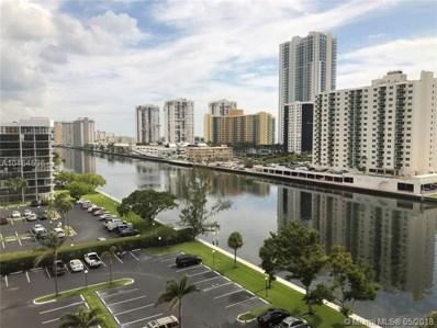 600 Parkview Dr UNIT 919, Hallandale, FL 33009 - MLS#: A10464536