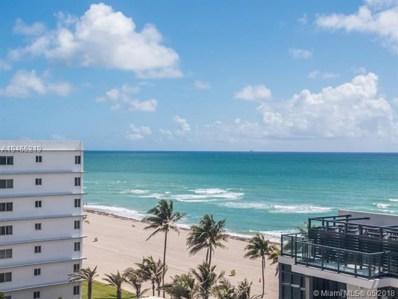 2201 S Ocean Dr UNIT 803, Hollywood, FL 33019 - MLS#: A10465219