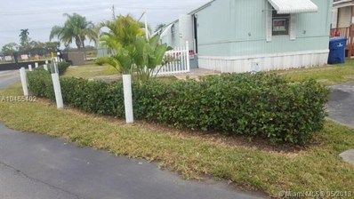 35250 SW 177 Court Unit 62, Florida City, FL 33034 - MLS#: A10465402