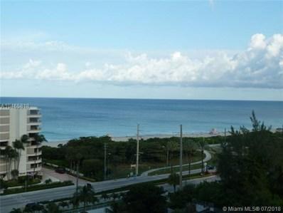 100 Bayview Dr UNIT 1109, Sunny Isles Beach, FL 33160 - MLS#: A10465818