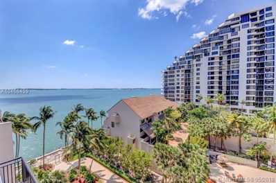540 Brickell Key Dr UNIT 823, Miami, FL 33131 - MLS#: A10466459