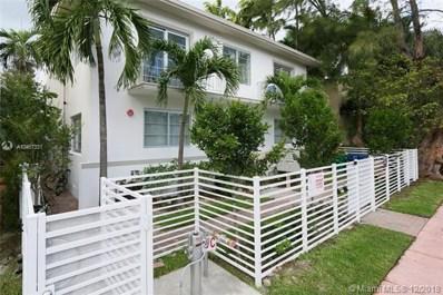 1560 Meridian Ave UNIT 101, Miami, FL 33139 - MLS#: A10467331