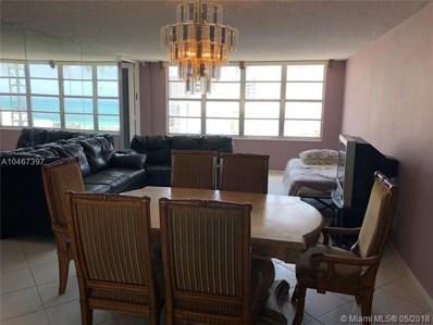 5401 Collins Ave UNIT 811, Miami Beach, FL 33140 - MLS#: A10467397