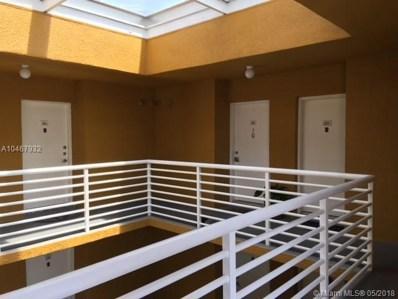 9725 Fontainebleau Blvd UNIT A212, Miami, FL 33172 - MLS#: A10467932