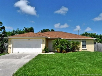1037 SW Romaine Ln, Port St. Lucie, FL 34953 - MLS#: A10468430
