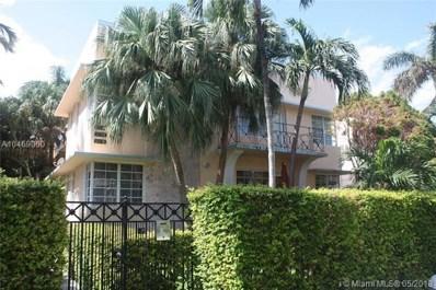 830 Euclid Ave UNIT 7, Miami Beach, FL 33139 - MLS#: A10469060