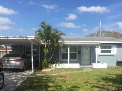 1120 N 74th Way, Hollywood, FL 33024 - MLS#: A10469213