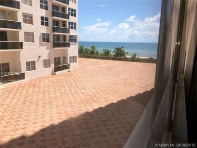 6039 Collins Ave UNIT 412, Miami Beach, FL 33140 - MLS#: A10469900