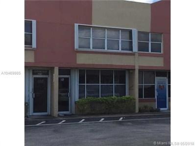 13370 SW 131st St UNIT 109, Miami, FL 33186 - MLS#: A10469985