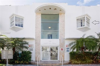 1526 Pennsylvania Ave UNIT 12, Miami Beach, FL 33139 - MLS#: A10470087