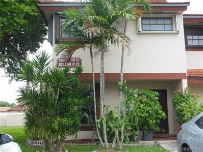 5855 SW 132nd Ct UNIT 22-1, Miami, FL 33183 - MLS#: A10470150