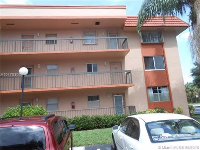 3100 Holiday Springs Blvd UNIT 201, Margate, FL 33063 - MLS#: A10470306