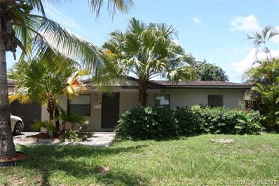 332 SW 80th Ter, North Lauderdale, FL 33068 - MLS#: A10470471